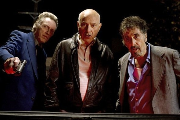 Christopher Walken, Alan Arkin, and Al Pacino.
