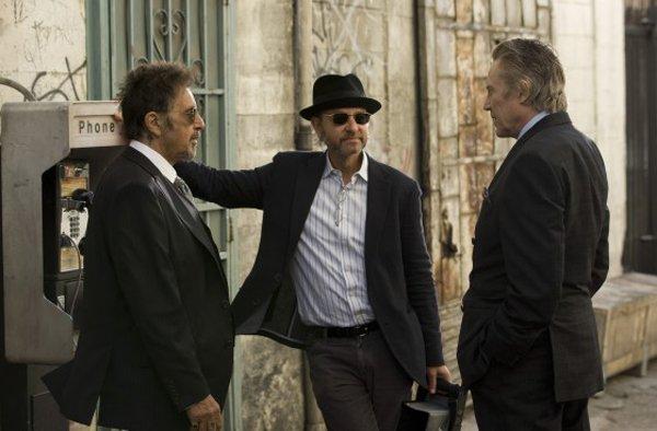 Al Pacino, Fisher Stevens, and Christopher Walken.
