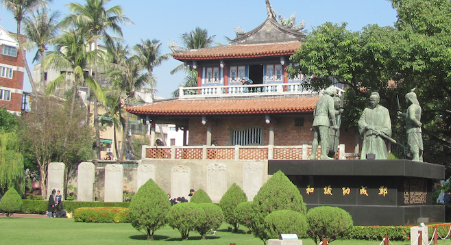 Historic Tainan has plenty to offer the traveler to southern Taiwan, including the 17th-century Chihkan Tower.