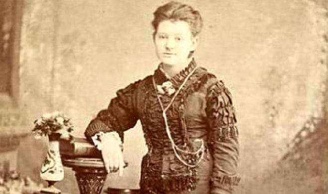 Photo of Alta M. Hulett from Chicago Historical Society