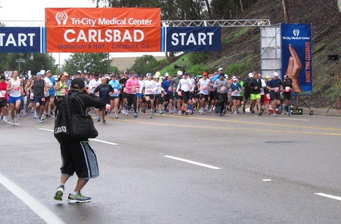 Taken at the Carlsbad Marathon.