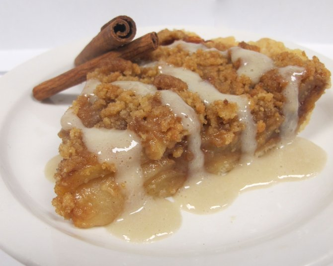 Home-made apple pie