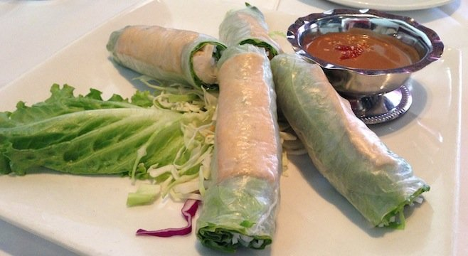 Fresh Spring Rolls with Tofu