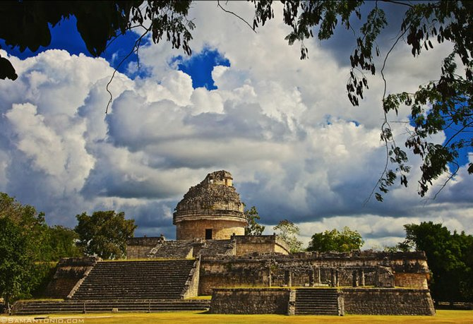 Chichén Itzá's El Caracol served as a Maya astronomical observatory.