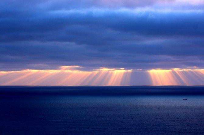 Gods Fingers...a wonderfull storm sunset taken from Fort Rosecrans !!