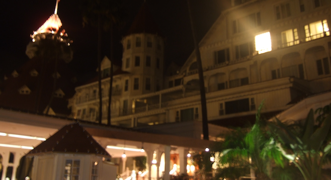 With the Hotel Del's reputed ghost sightings, some might say history is still alive at this famed old hotel.