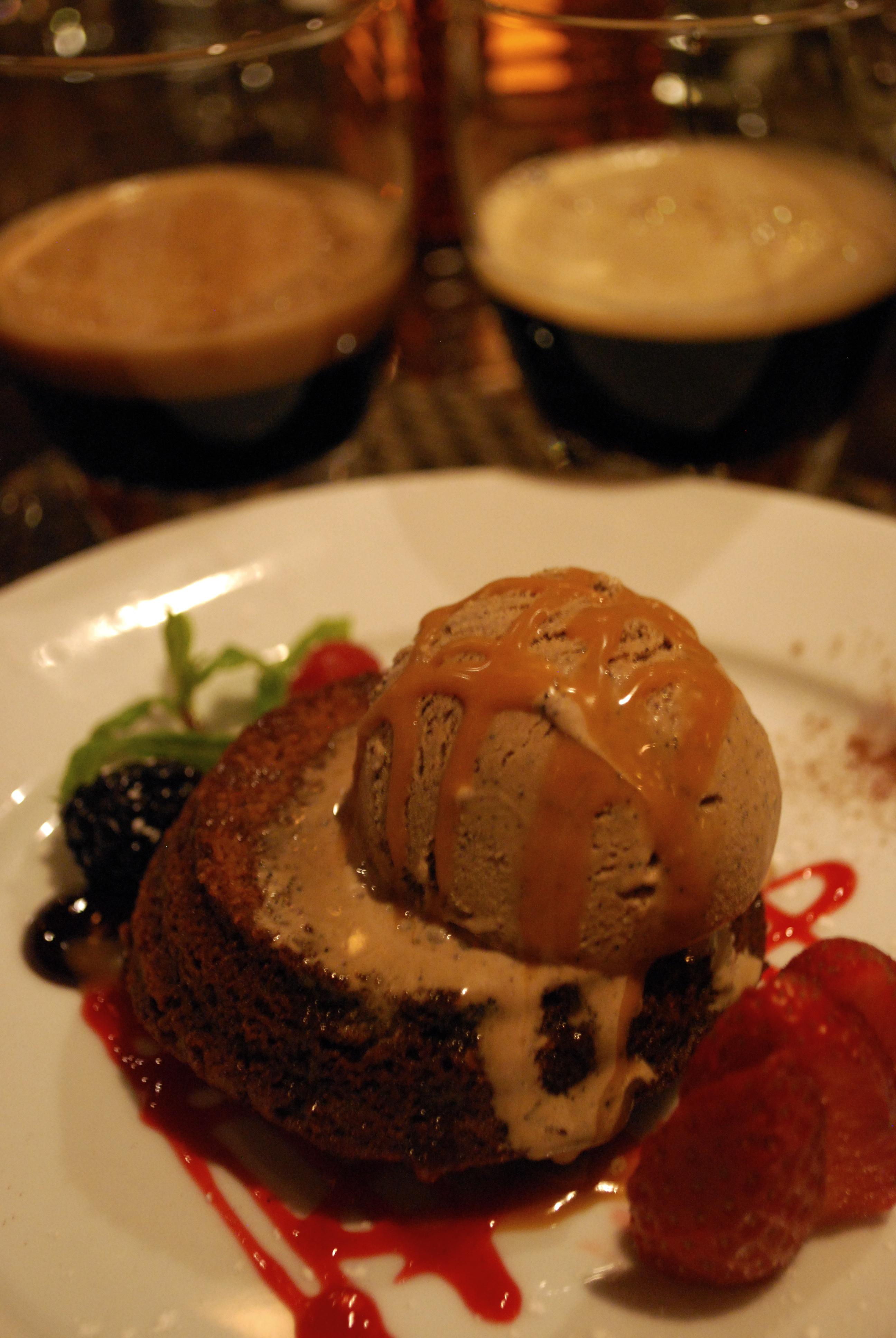 Seventh course, i.e. dessert!