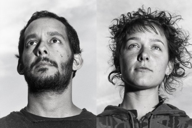 Casbah stages Brooklyn folk-punk duo Buke & Gase on Wednesday.
