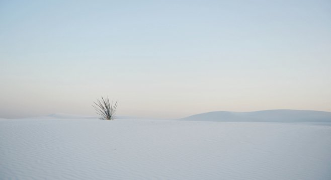 White Sands, New Mexico is one of Life magazine's 50 most beautiful places in the United States.