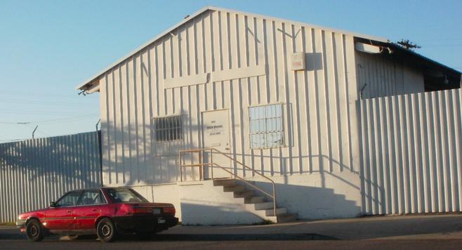 Ekco Metals building on Commercial Street