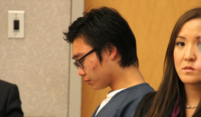 Jin Hyuk Byun was ordered to State prison.  Photo Weatherston.