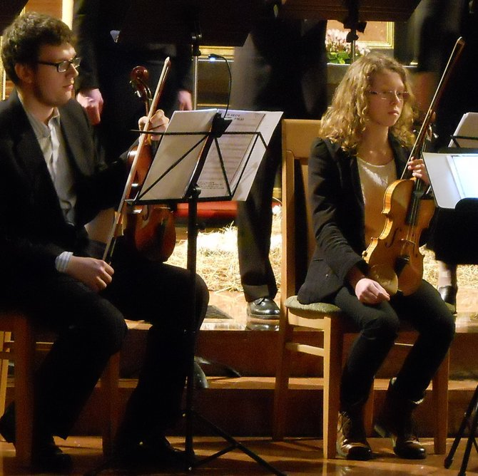'Anonymous' Ensemble & String Quartet Concert (St. Joseph Diocese Sanctuary and Discalced Carmelite Monastery on the St. Adalbert Hill in Poznan). On Saturday 5 January 2013, different eras and nations Christmas carols were sung by the ensemble 'Anonymous' to the accompaniment of String Quartet: Irene Maciejska - viola, Wanda Galcz - violin, Iwona Granacka - cello, and Adam Zimer - violin. The early music ensemble 'Anonymous' was founded in late 2004. Its name refers to the middle ages when the sacred music was composed by anonymous authors. The group performs music from the Middle Ages, the Renaissance, and the Baroque.