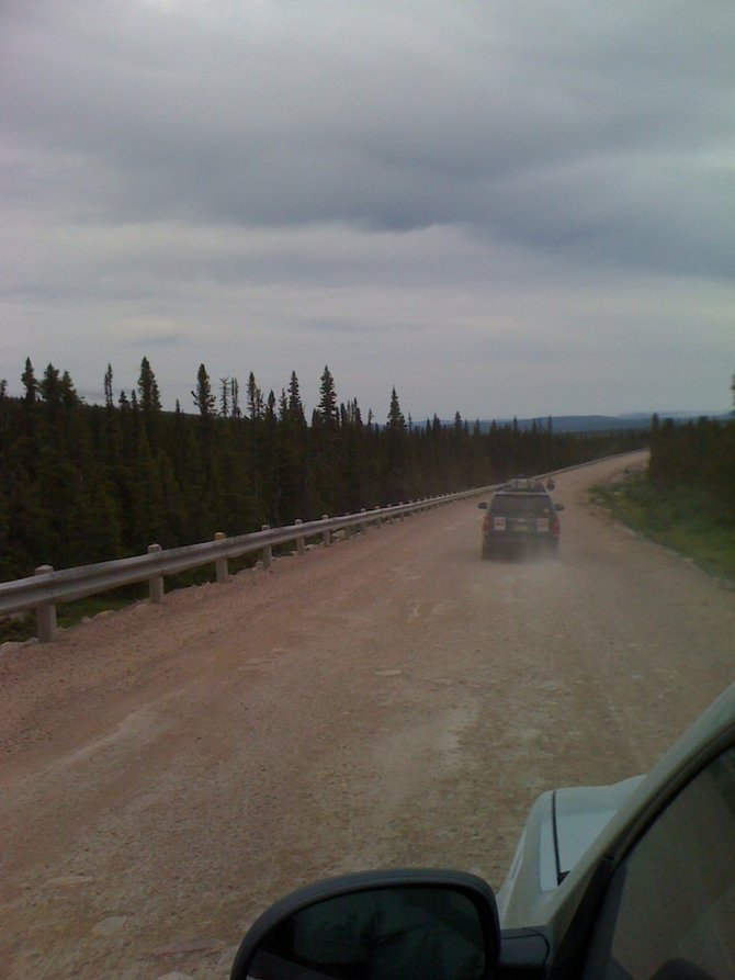 5,000-mile drive into the Canadian wilderness... sound like fun?