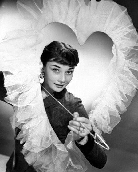 Audrey Hepburn, the fairest of them all.