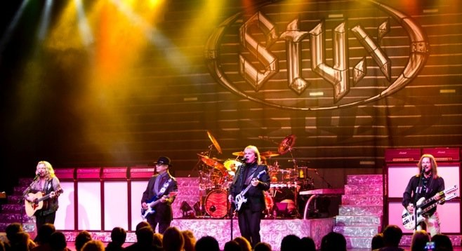 The Current Styx Tour