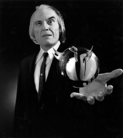 "Angus Scrimm in ""Phantasm."""
