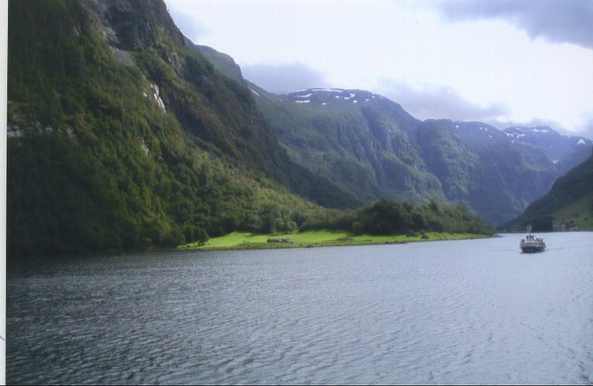 Heading off on a Norwegian fjord cruise