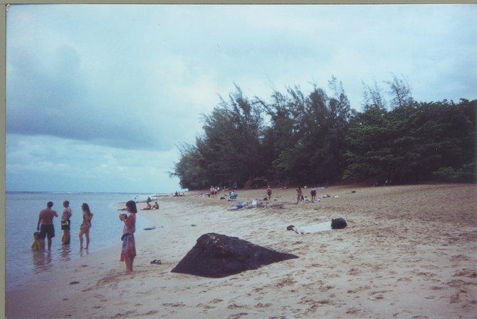 beach in Kauai