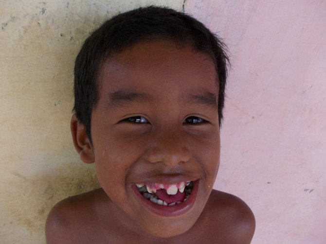 A boy from La Chumicosa. (Cocle, Panama)