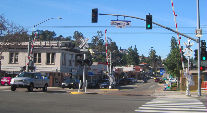 La Mesa Boulevard west of Spring Street will be included in the Oktoberfest