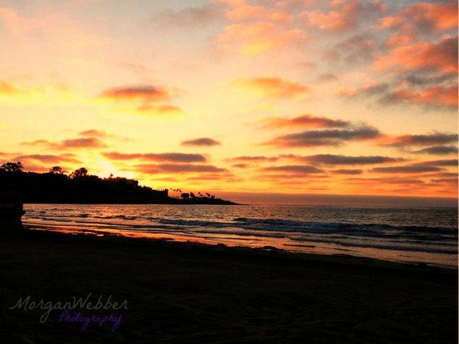 La Jolla Sunset By: Morgan Webber Photography