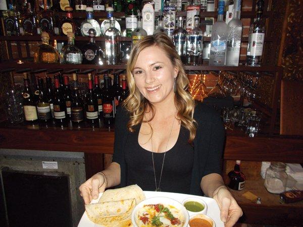 Christina serves up fondue and chorizo, and, O Lord, it's good.