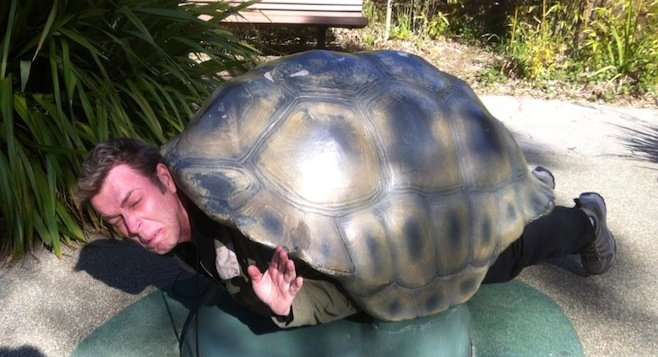 Uncle Jimmy, as a Turtle.