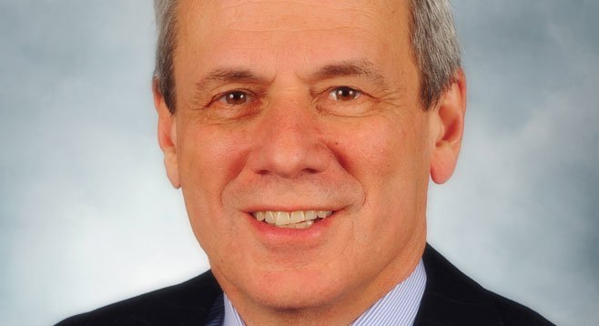 """Larry Lucchino, """"the only man in the world with a Final Four ring, Super Bowl ring, and World Series ring."""""""