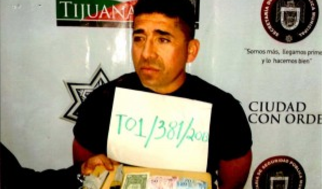 Jorge Pineda Ibarra (Tijuana police photo)