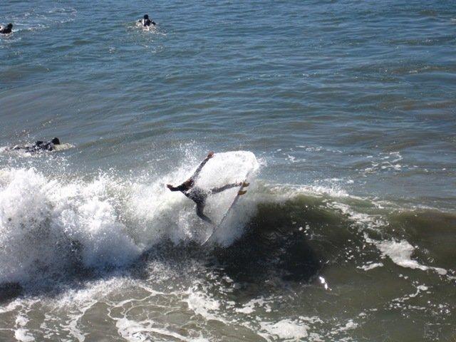 Oceanside pier surf session!