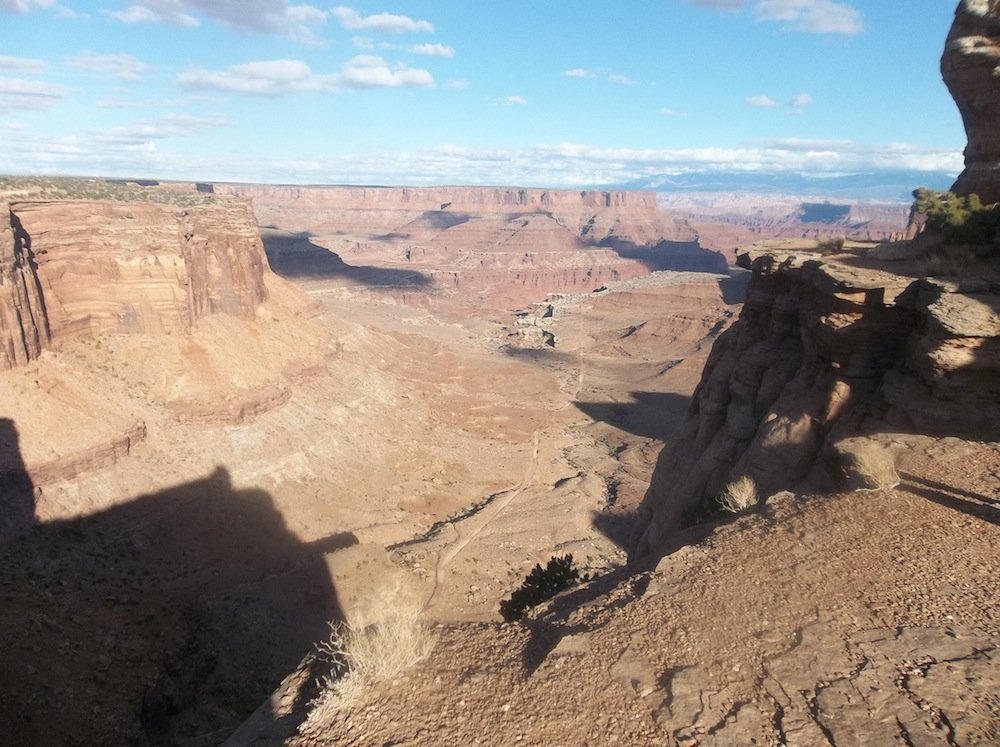 Taking in the epic view at Canyonlands.