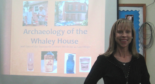 SDSU archaeology graduate student Kathy Collins was interested in how illness was treated during the American Victorian era in San Diego.