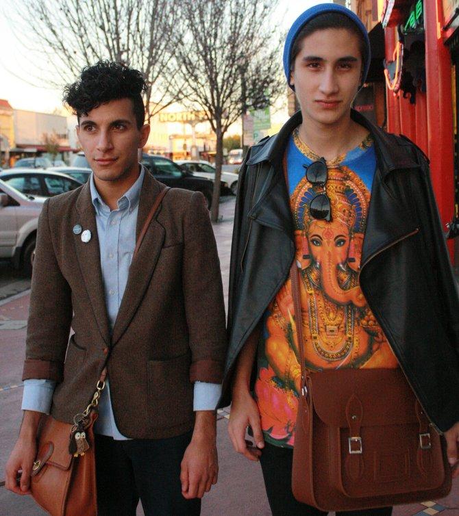 Issa Lozano (left) and Domenik Grisanti (right)