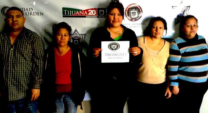 Tijuana police photo