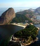 Guanabara Bay, Rio de Janeiro. Taken from an airplane in May 2012.  photographer: Walter ...