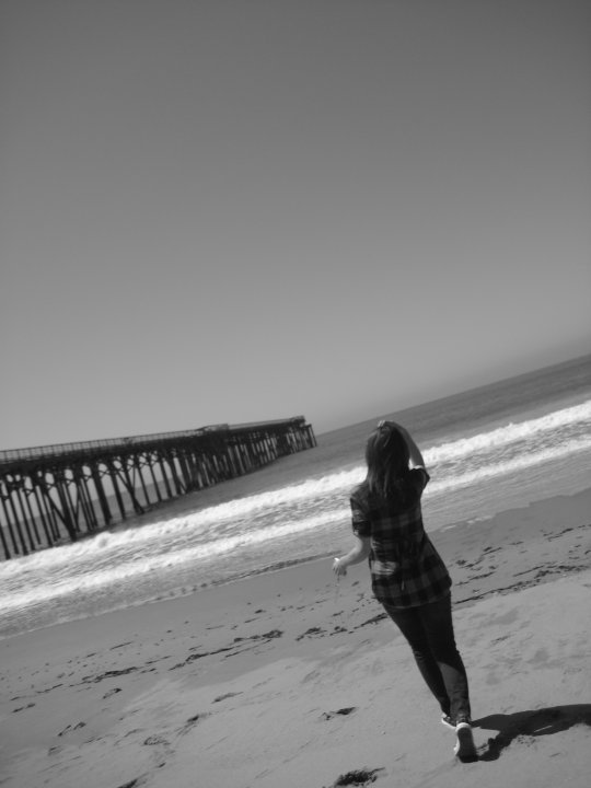 Accidental photo at Hearst State Beach