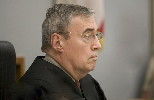 Hon. Judge Hockett granted defense attorneys' requests to delay the arraignment.  Photo Weatherston.