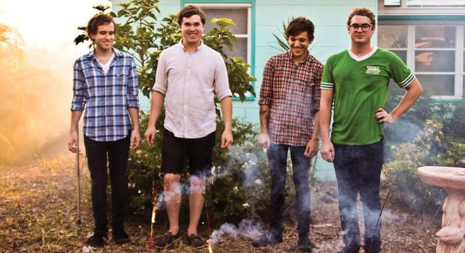 Palm Beach indie hits Surfer Blood wash up at Casbah Sunday night.