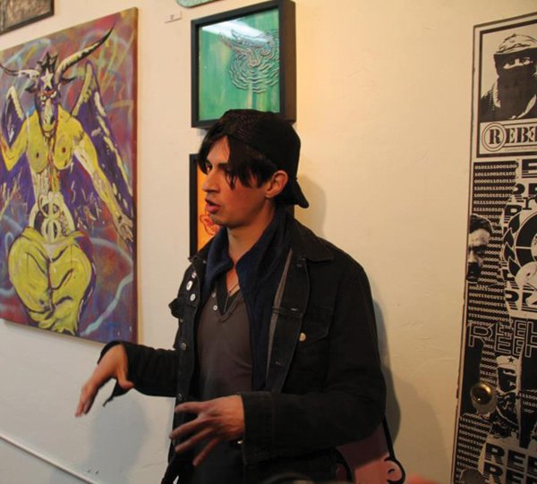 Slug & Tug partygoers experienced art and music imported from Mexicali and Tijuana.