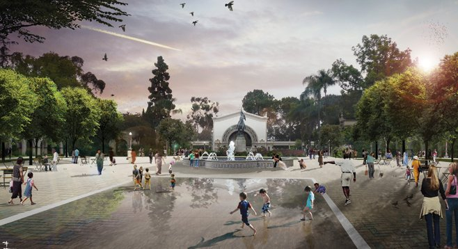 Gavin Newsom tried to redefine marriage; now he wants to rearrange Balboa Park.
