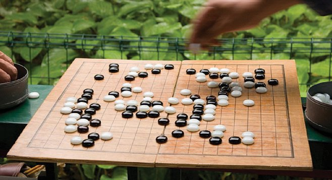 """""""In Go, you have 361 possible first moves to pick from. In chess, you have 20."""""""