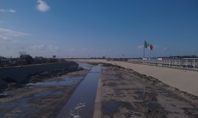 Tijuana River canal.  Photo: Chad Deal