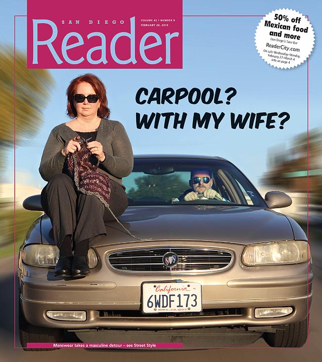 Agree, Wife on car hood