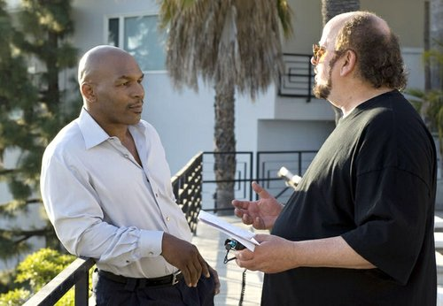 "Mike with ""Tyson"" director, James Toback."