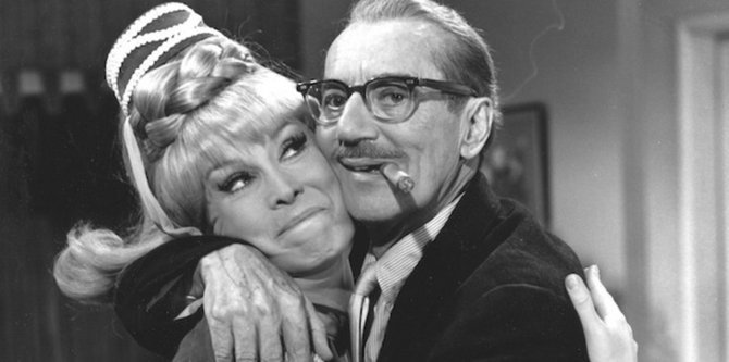 Barbara Eden dreams of Groucho.