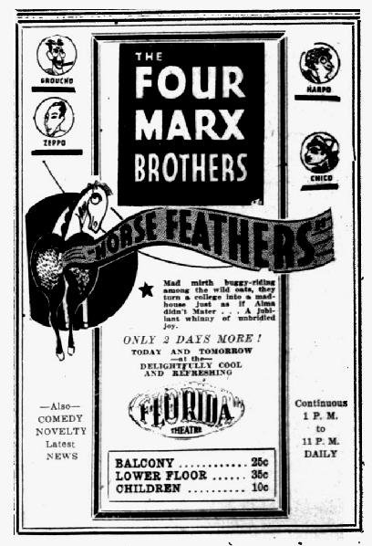 """""""The Evening Independent,"""" August 23, 1932."""