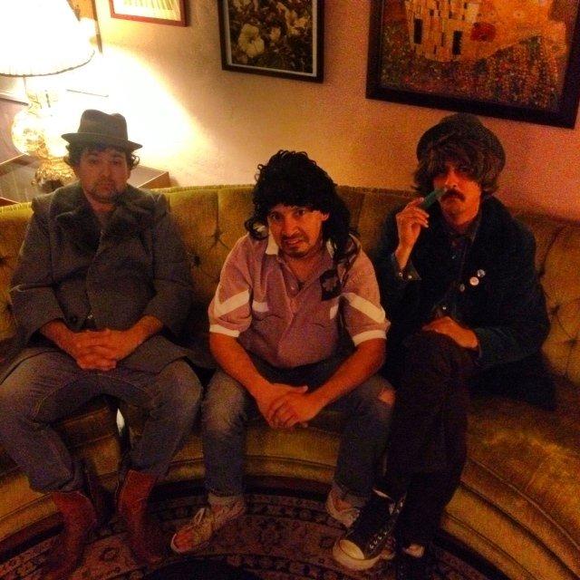 The Bujwah brothers: Daniel, Jacob, and Matt Zavala