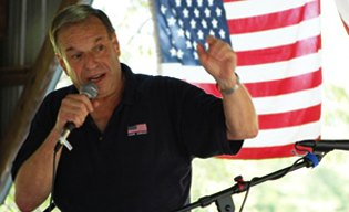 Bob Filner on the campaign trail