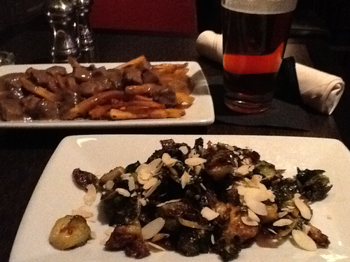 What $8 buys at First Avenue Bar: Poutine, Brussel sprouts, Stone Pale Ale