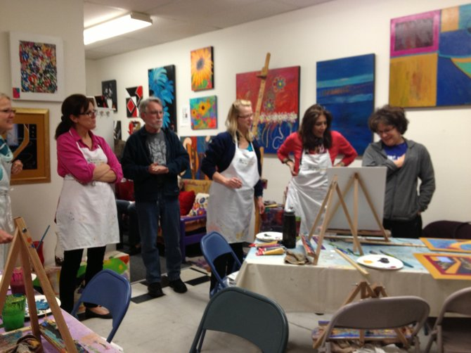 BYOB Paint Class- Painting 'Opportunity Knocks'